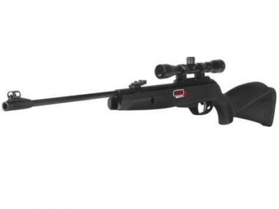 CARABINA GAMO BLACK KNIGHT IGT MACH 1 CAL 6.35mm (vídeo)